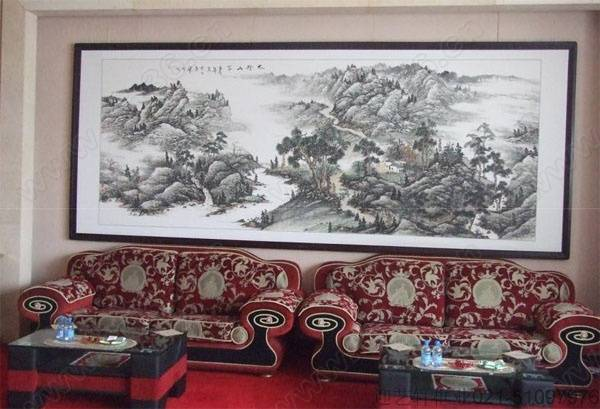 艺轩裱画配框,字画装裱 上海传统手工裱画,上海浦东裱画中心